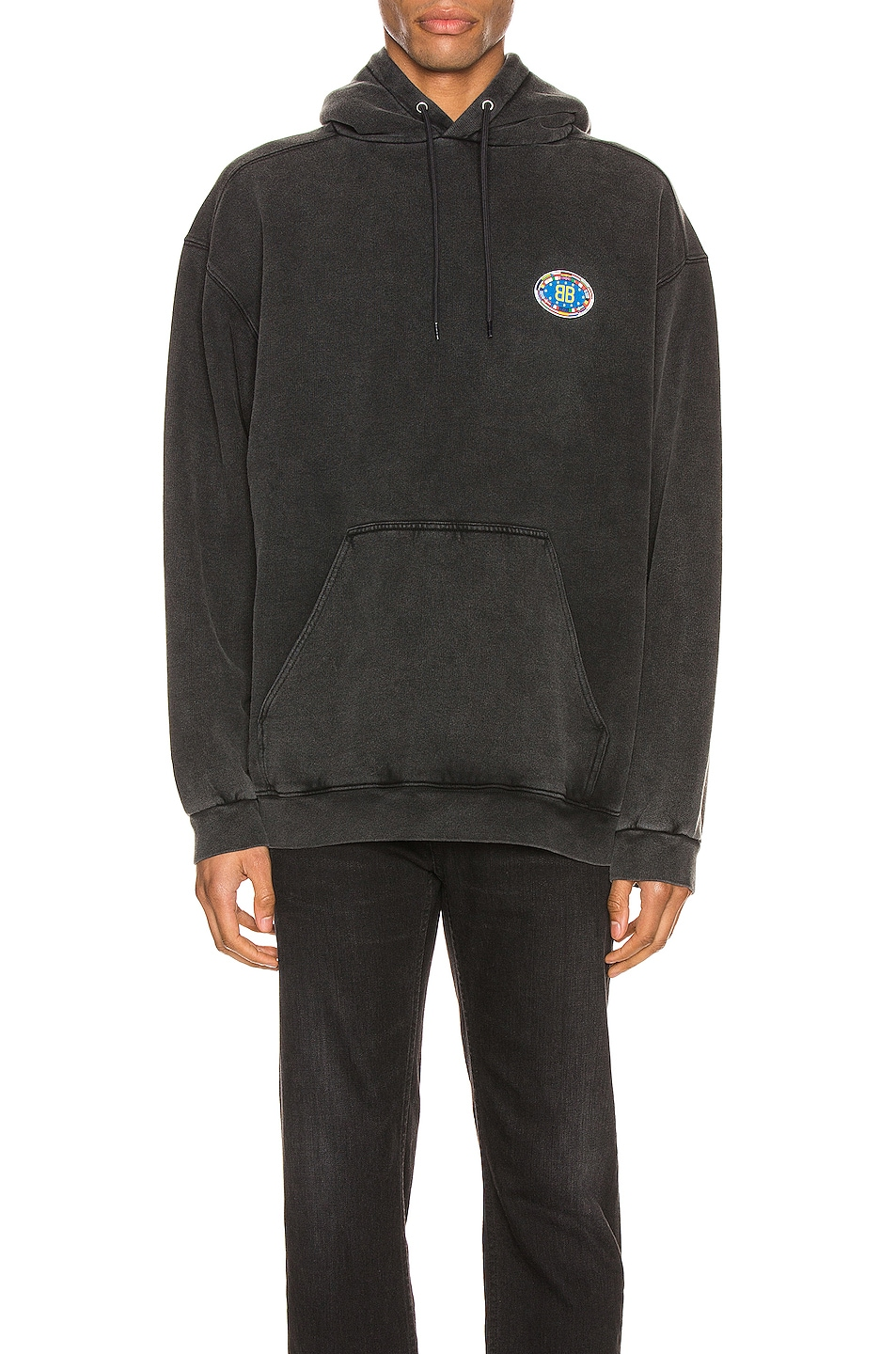 Image 1 of Balenciaga Hoodie in Anthracite