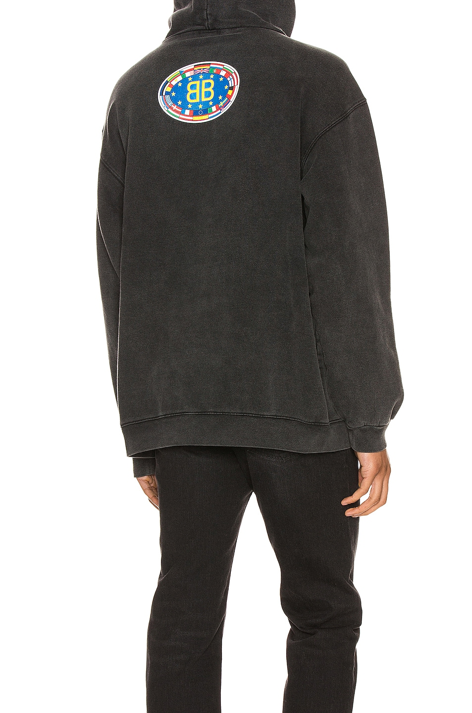 Image 4 of Balenciaga Hoodie in Anthracite