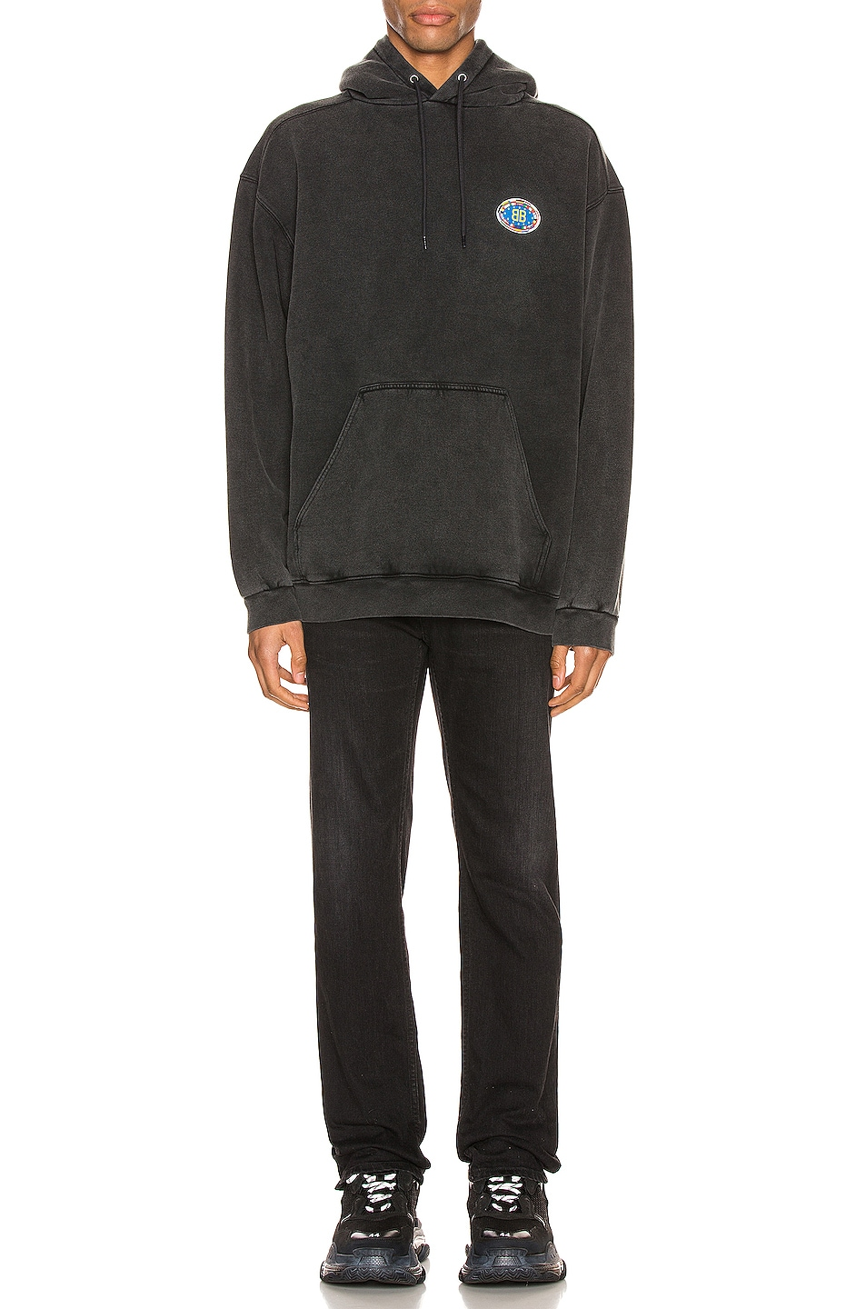 Image 5 of Balenciaga Hoodie in Anthracite