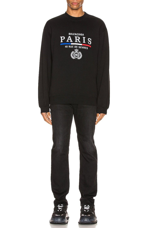 Image 4 of Balenciaga Crewneck in Black