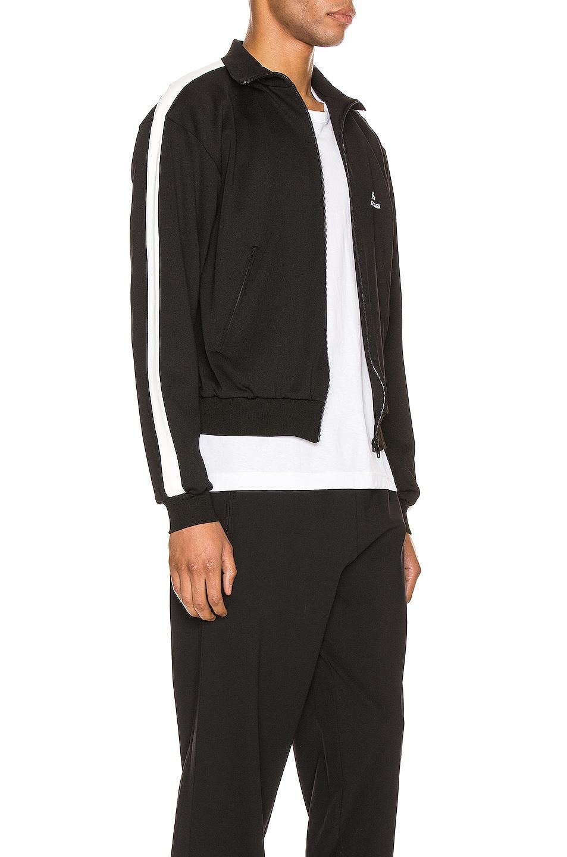 Image 3 of Balenciaga Zip-Up Jacket in Black & White