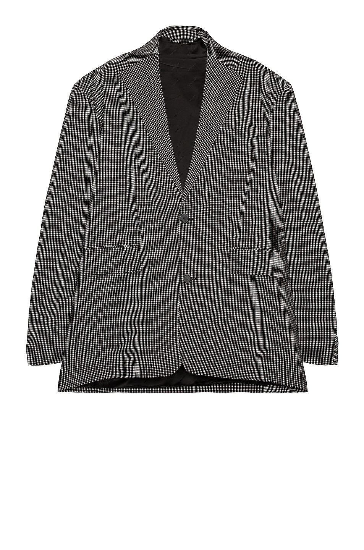 Image 1 of Balenciaga SB Boxy Jacket in Black & White