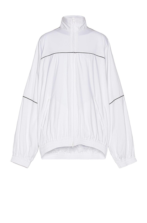 Image 1 of Balenciaga Tracksuit Jacket in White