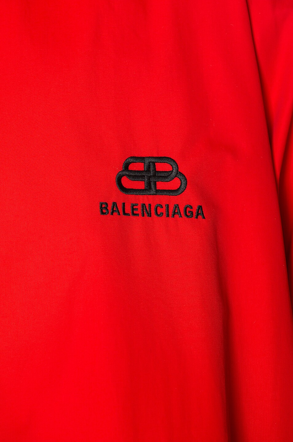 Image 7 of Balenciaga Double Sleeve Zip Up in Masai Red