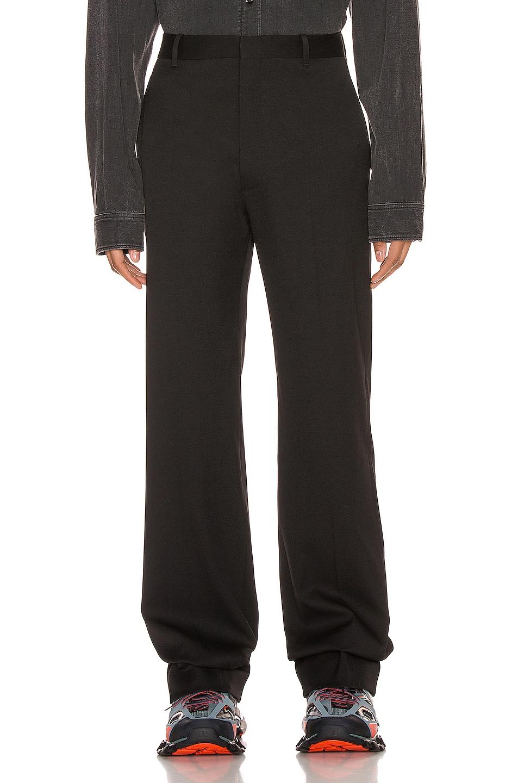 Image 1 of Balenciaga Tailored Pants in Black