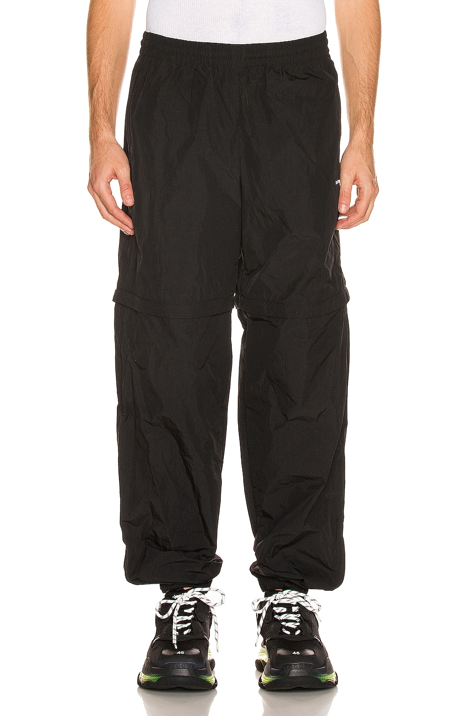 Image 1 of Balenciaga Tracksuit Pants in Black