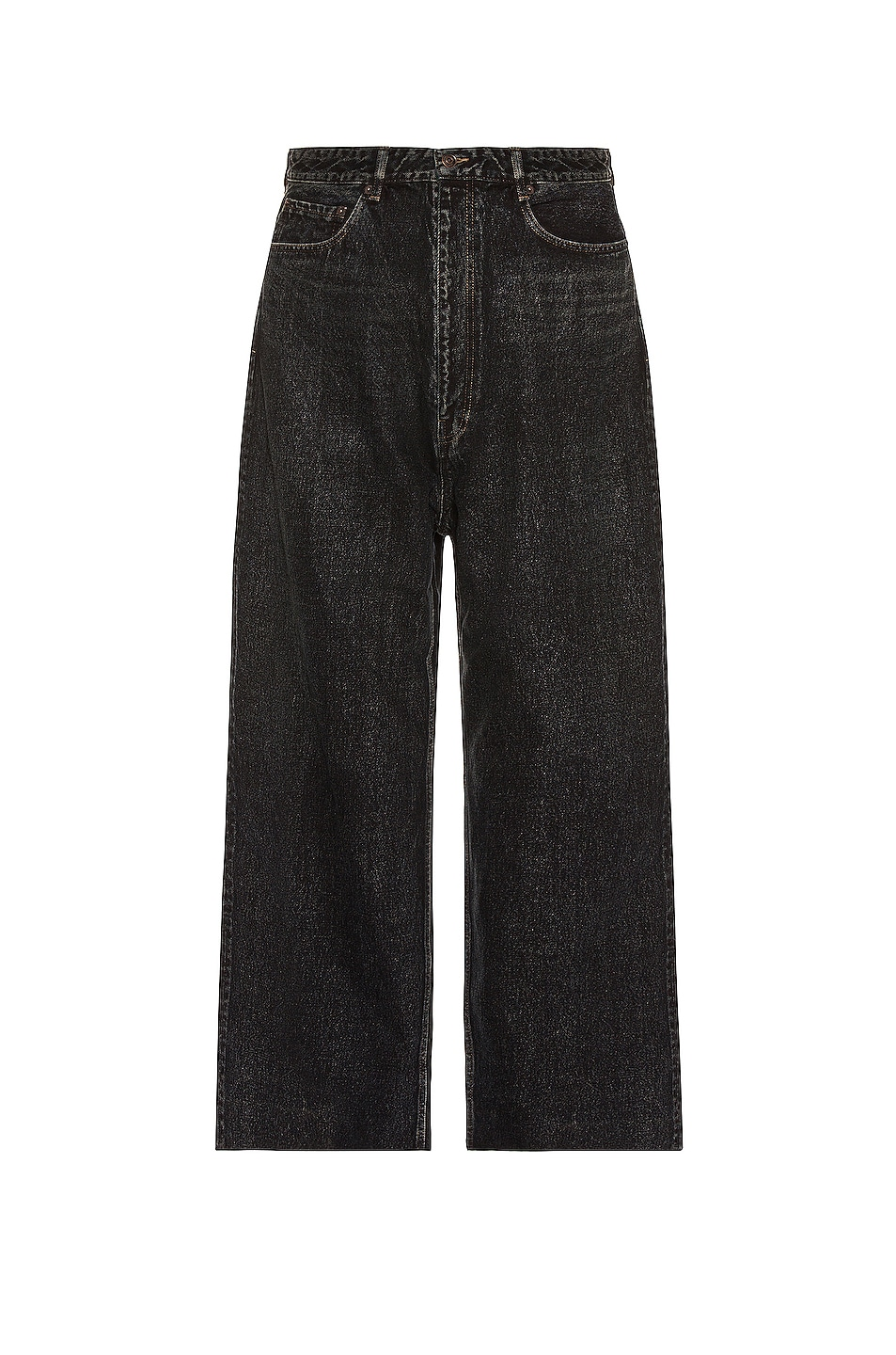 Image 1 of Balenciaga Baggy Trousers in Blue & Black