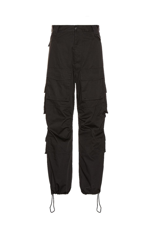 Image 1 of Balenciaga Cargo Pants in Black