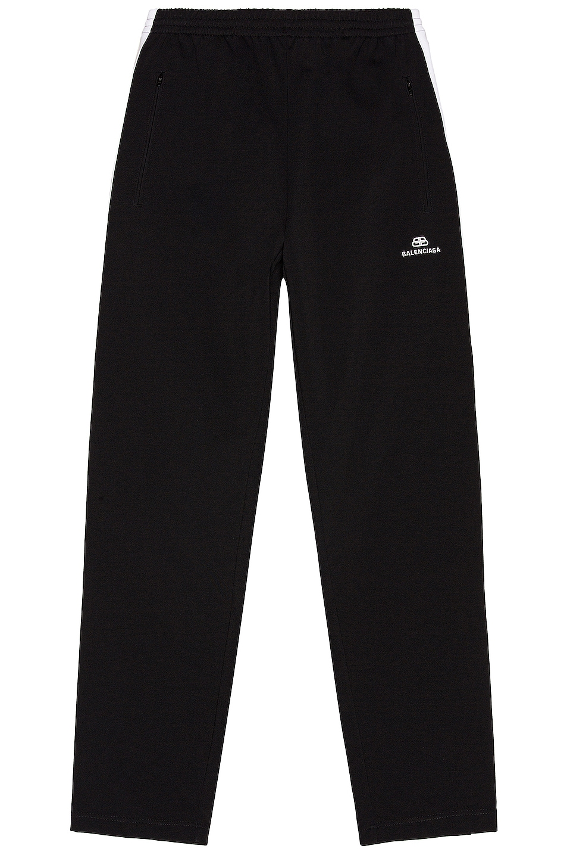 Image 1 of Balenciaga Tracksuit Pants in Black & White