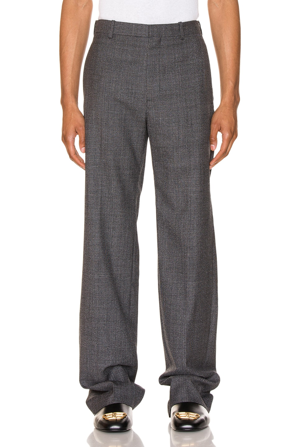 Balenciaga Pants Prince of Wales Tailored Pants