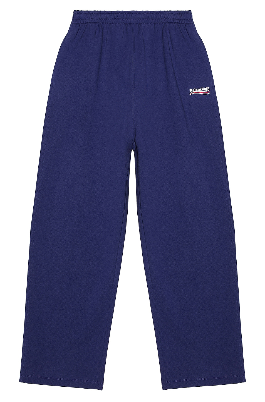 Image 1 of Balenciaga Jogging Pants in Pacific Blue