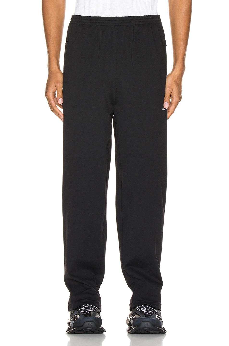 Image 2 of Balenciaga Tracksuit Pants in Black