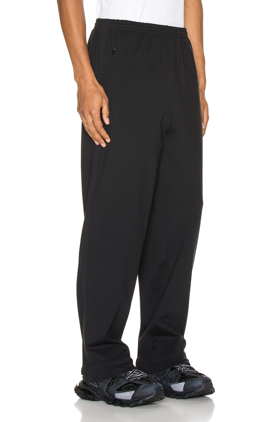 Image 3 of Balenciaga Tracksuit Pants in Black