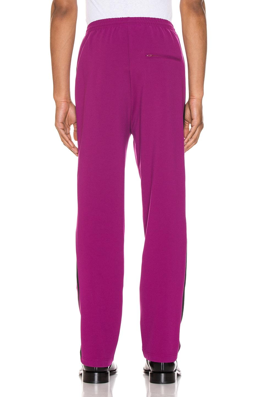 Image 4 of Balenciaga Tracksuit Pants in Grape & Black