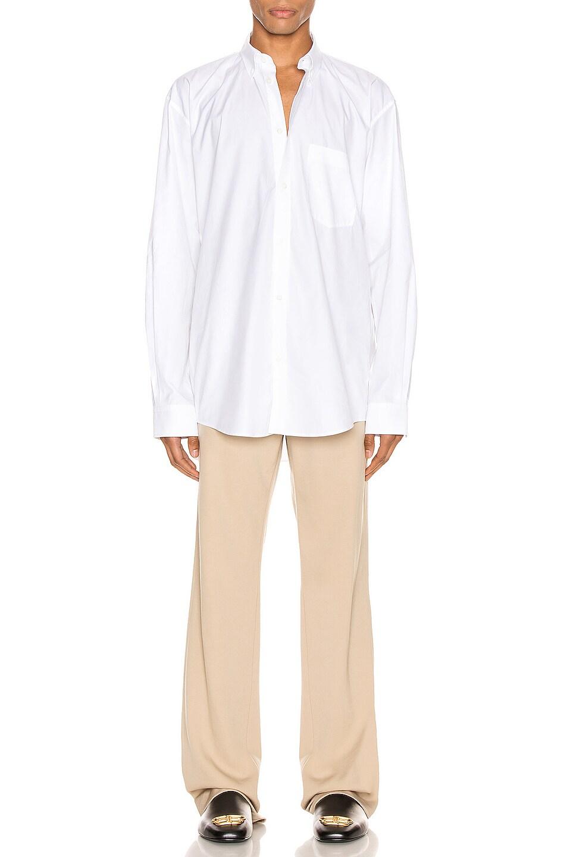 Image 4 of Balenciaga Tailored Pants in Touareg Beige