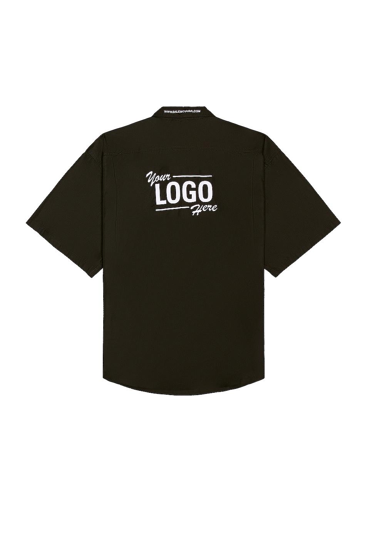 Image 1 of Balenciaga One Size Shirt in Black