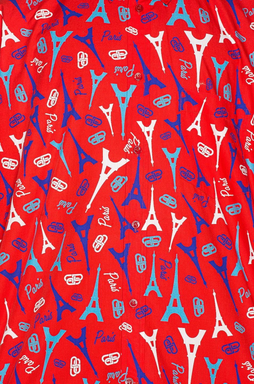 Image 5 of Balenciaga Short Sleeve Shirt in Red