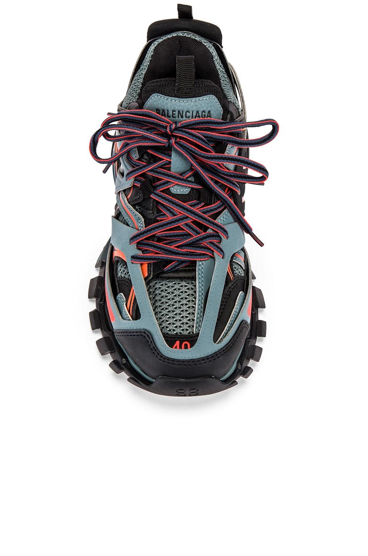 Image 4 of Balenciaga Track Sneaker in Dark Grey & Red & Black