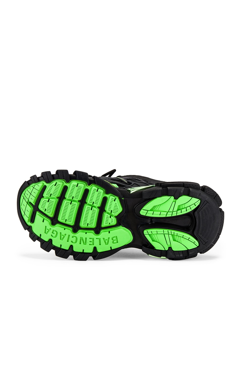 Image 6 of Balenciaga Track 2 Sneaker in Black & Green