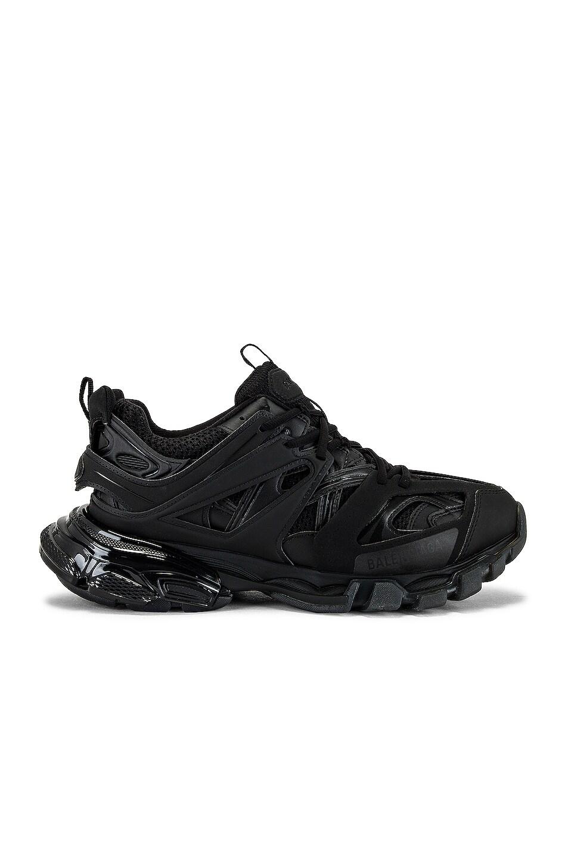 Image 1 of Balenciaga Track Clear Sole Sneaker in Black