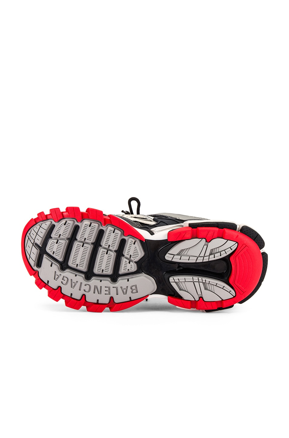 Image 6 of Balenciaga Track 2 Sneaker in Black & Grey & Red