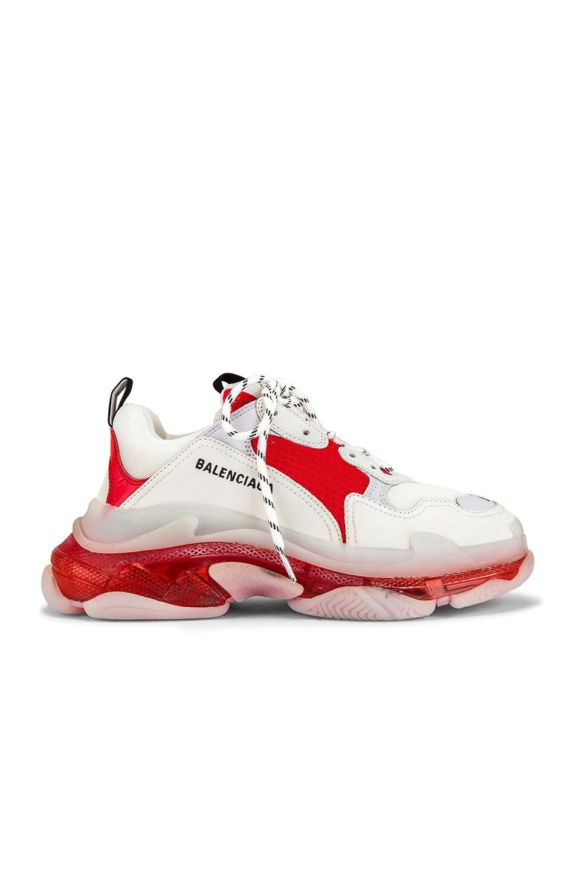 Image 2 of Balenciaga Triple S Sneaker in White