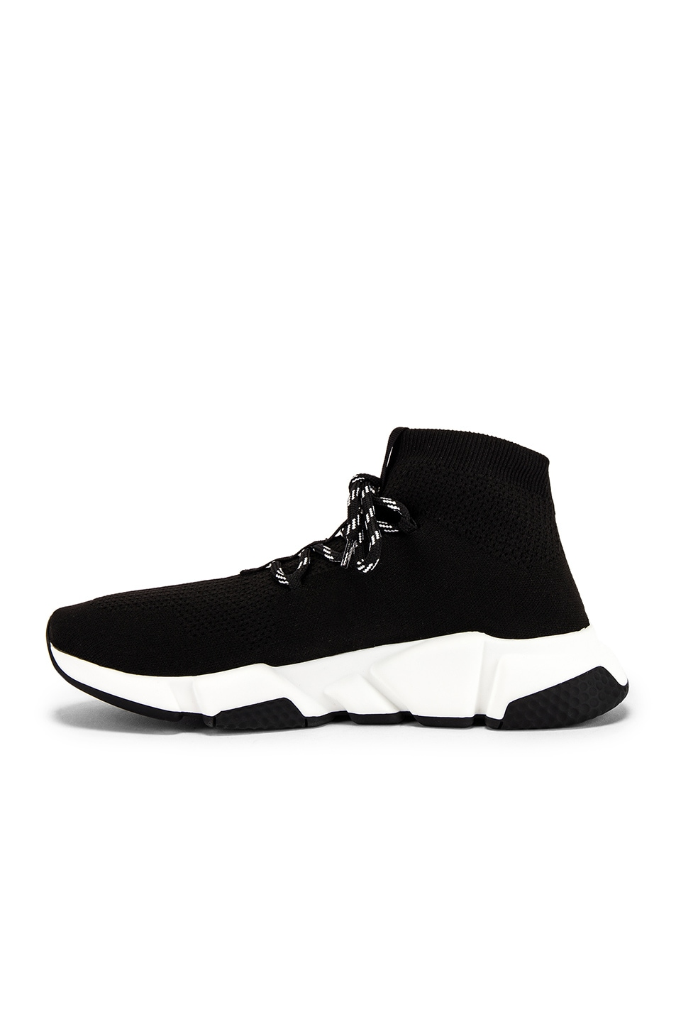 Image 5 of Balenciaga Speed Light Lace-Up Sneaker in Black