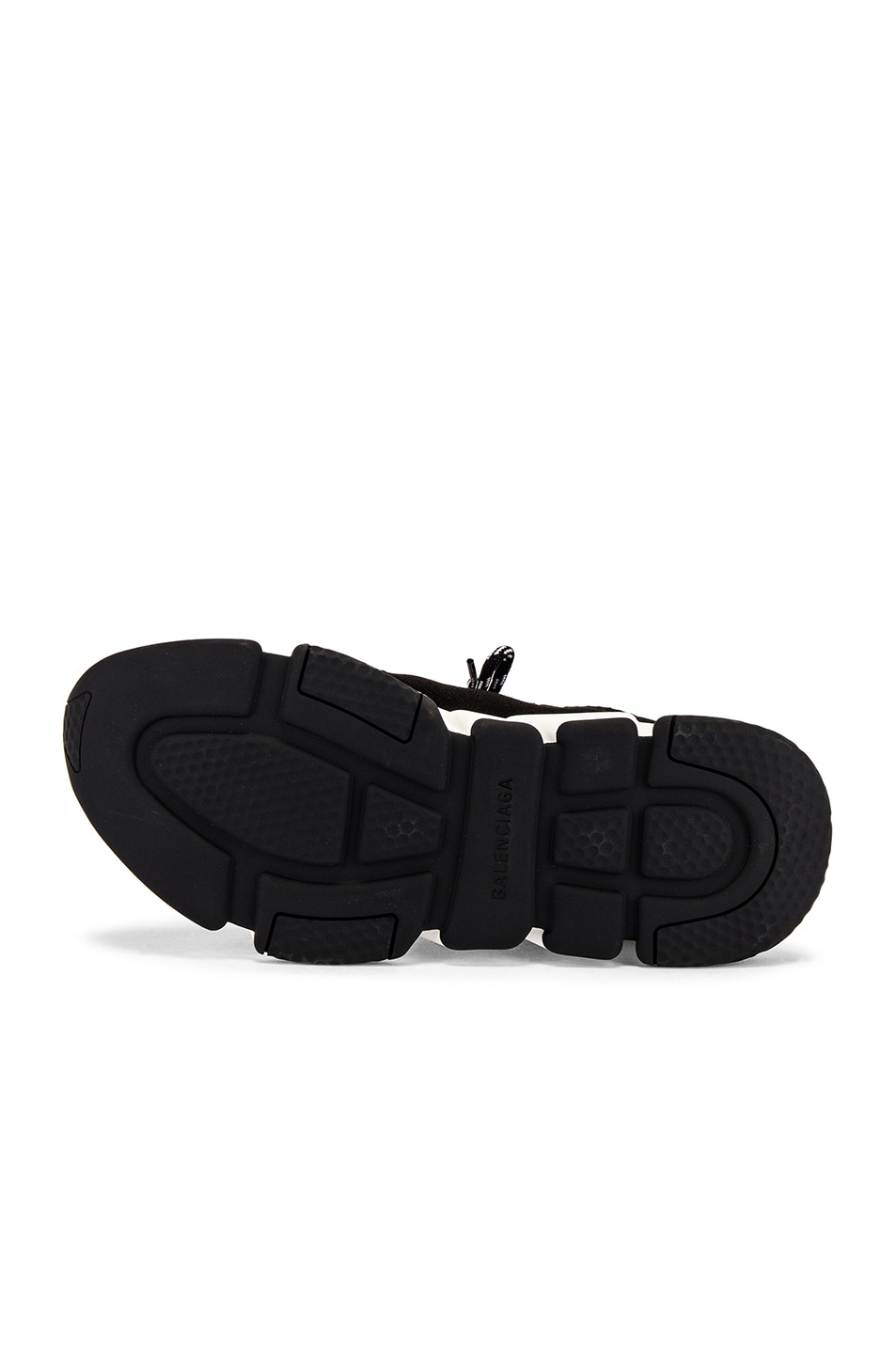 Image 6 of Balenciaga Speed Light Lace-Up Sneaker in Black
