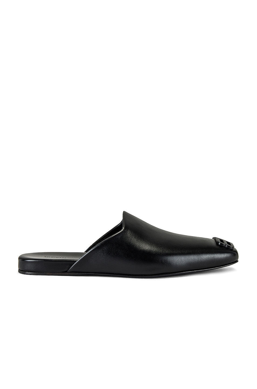 Image 1 of Balenciaga Cosy New BB Mule in Black