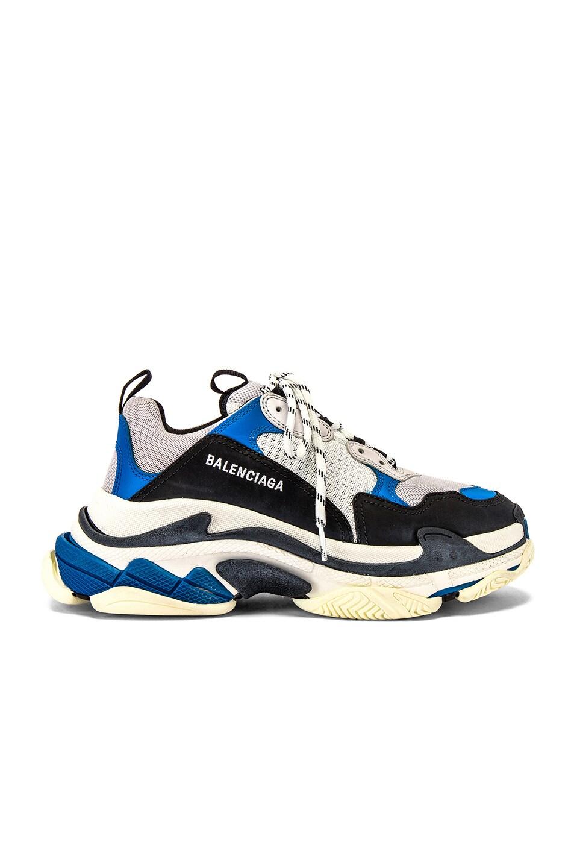 Image 2 of Balenciaga Triple S Sneaker in Black