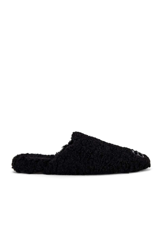 Image 1 of Balenciaga Cosy BB Mule in Black