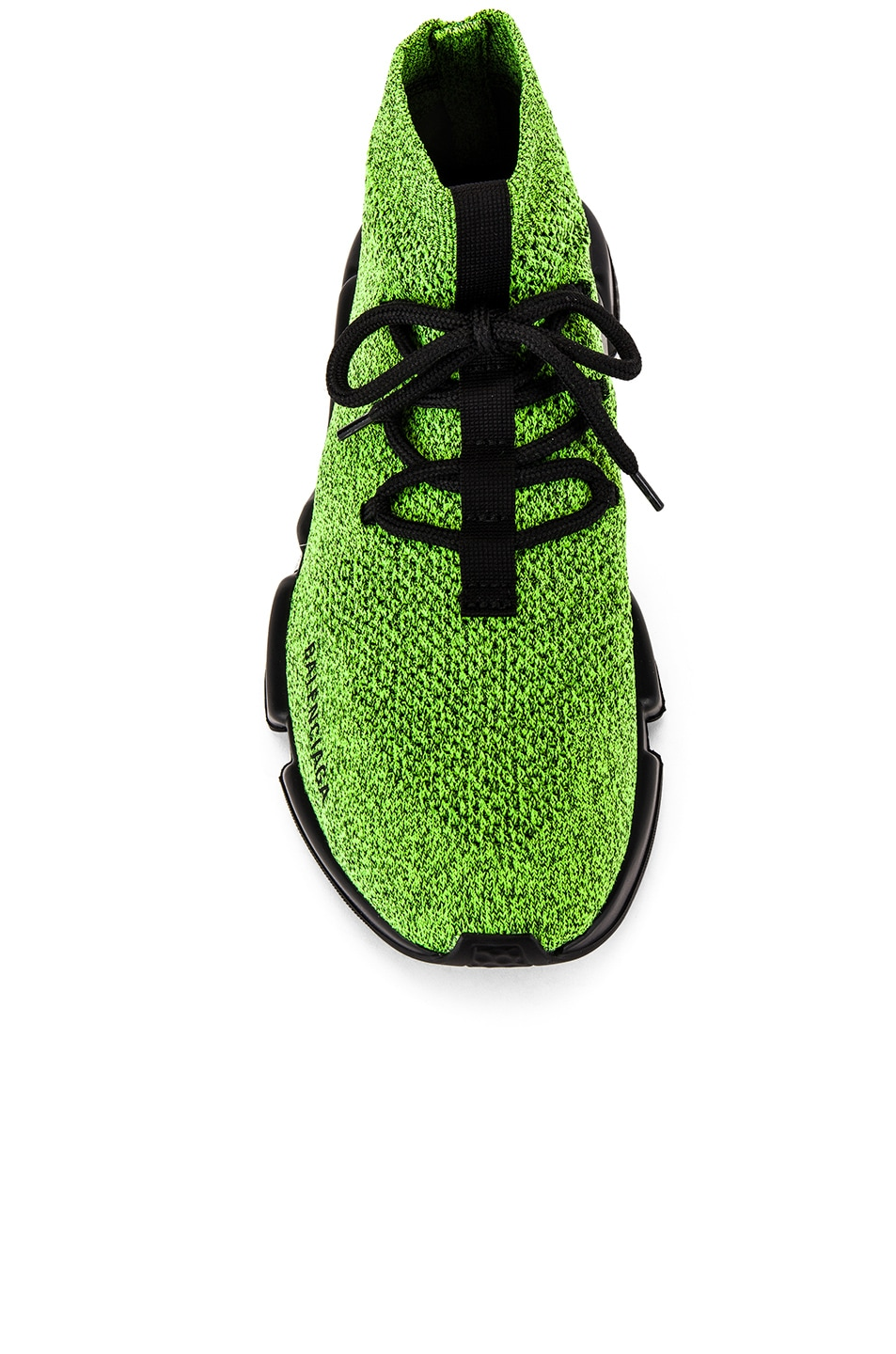Image 4 of Balenciaga Speed Light Lace-Up Sneaker in Yellow