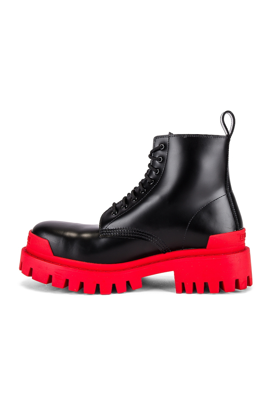 Image 5 of Balenciaga Strike Bootie L20 in Black & Red
