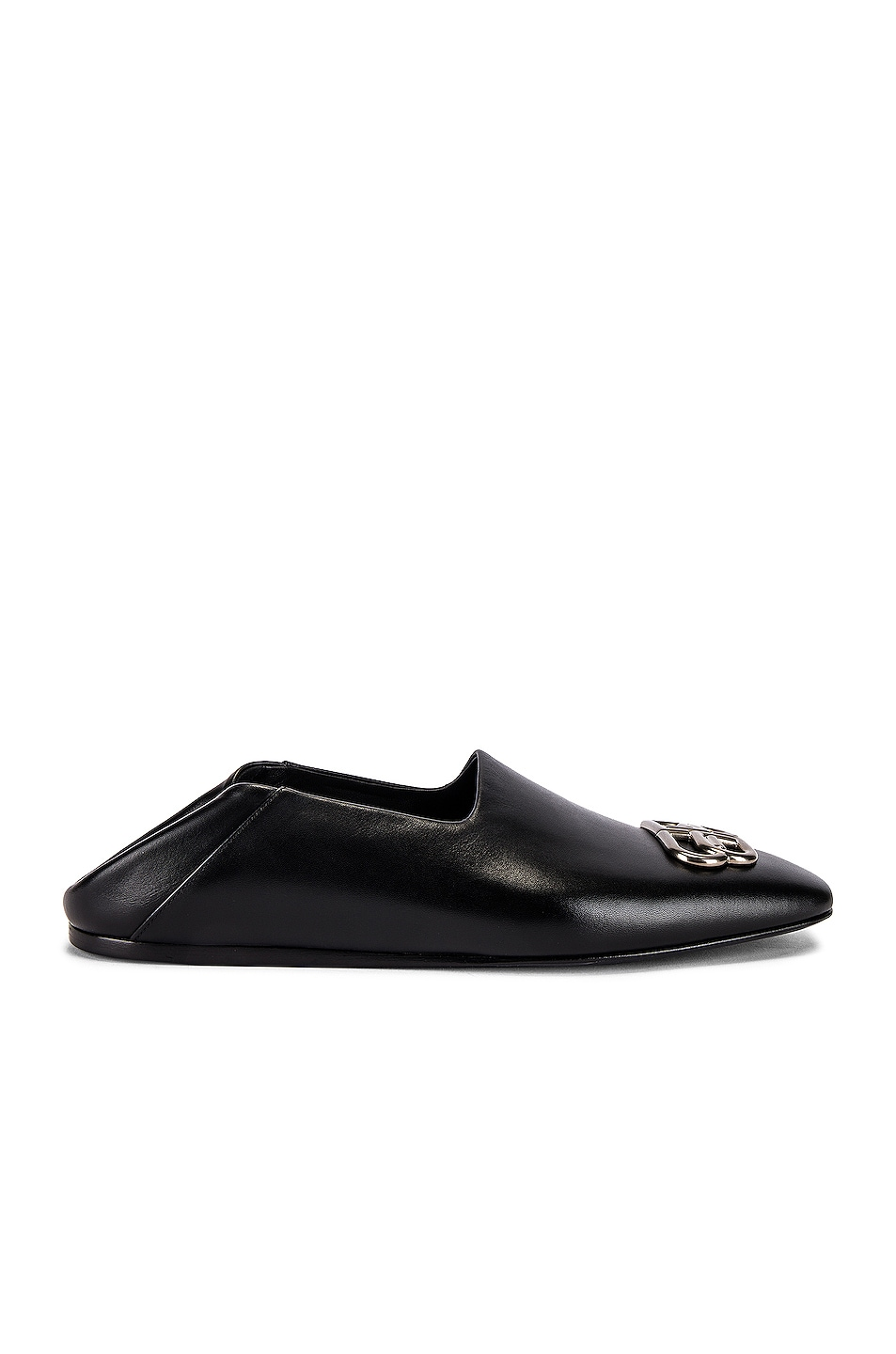 Image 2 of Balenciaga Cosy BB Loafer F005 in Black & Nikel