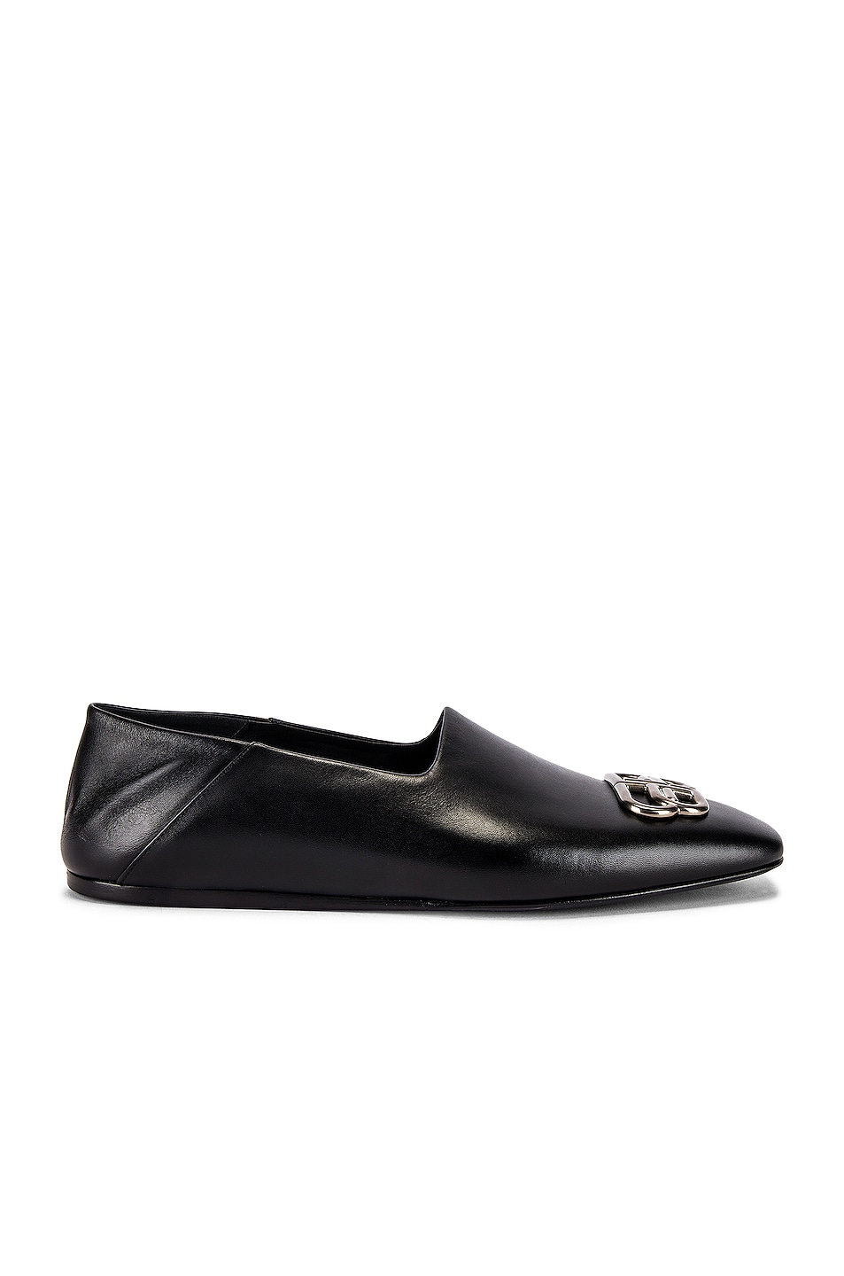 Image 6 of Balenciaga Cosy BB Loafer F005 in Black & Nikel