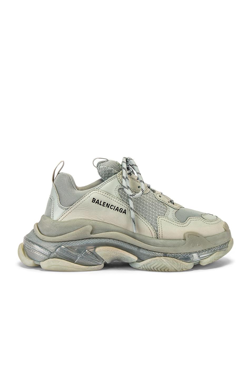 Image 2 of Balenciaga Triple S Sneaker in Pearl