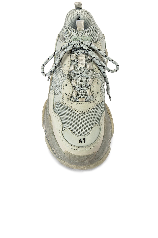 Image 4 of Balenciaga Triple S Sneaker in Pearl