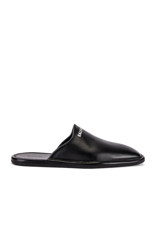 Image 1 of Balenciaga Carrea Lux Loafer in Black & White