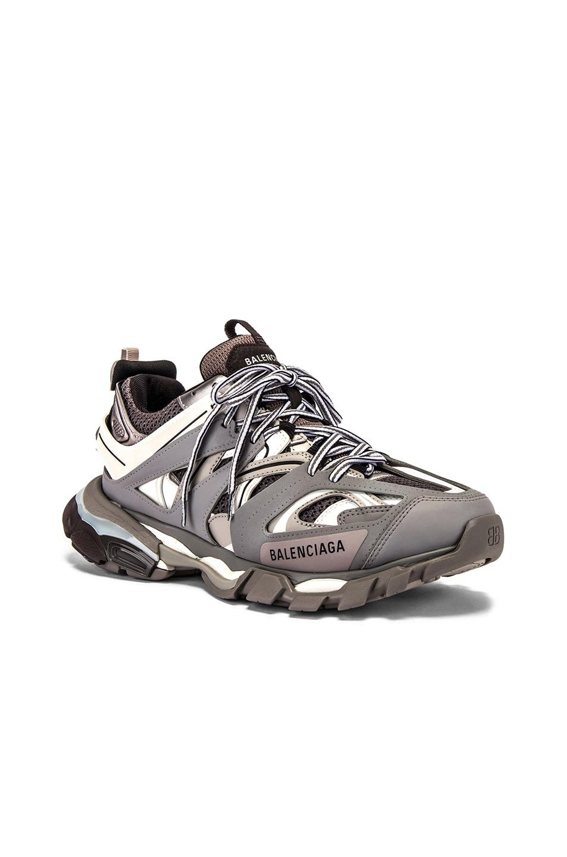 Image 1 of Balenciaga Track Sneaker in Grey