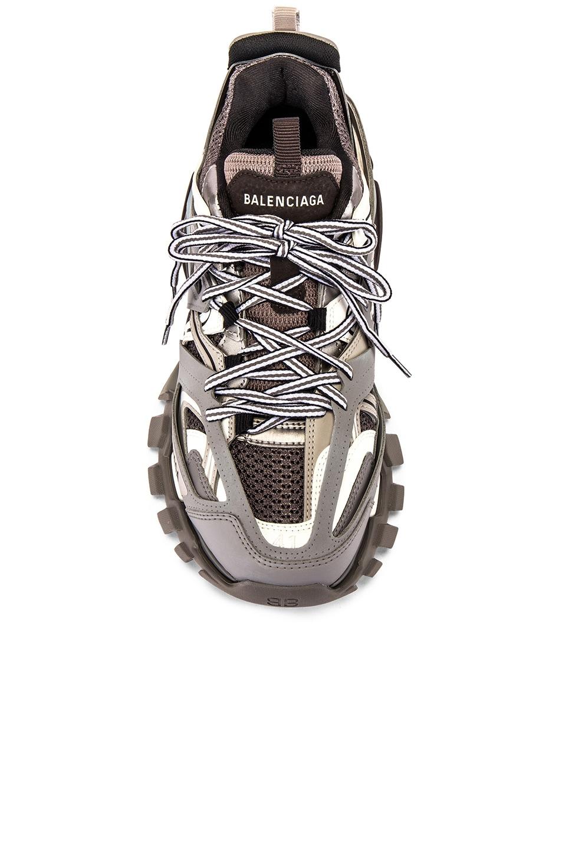 Image 4 of Balenciaga Track Sneaker in Grey
