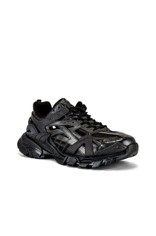 Image 1 of Balenciaga Track.2 Open Sneaker in Black