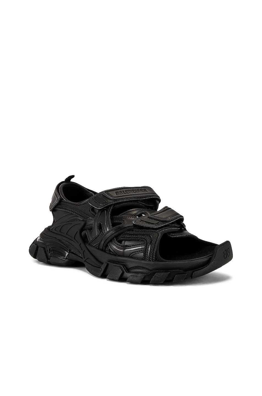 Image 1 of Balenciaga Track Sandal in Black