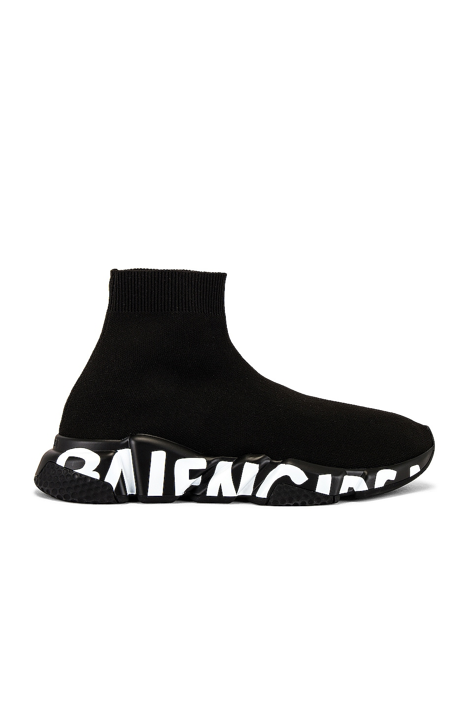 Image 1 of Balenciaga Speed Lt Graffiti Sneaker in Black