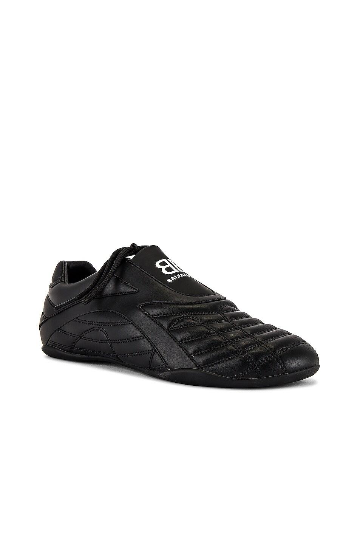 Image 1 of Balenciaga Zen Sneaker in Full Black & White