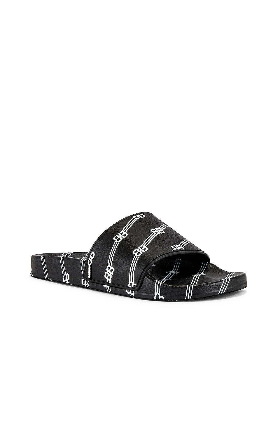 Image 1 of Balenciaga Pool Slide in Black