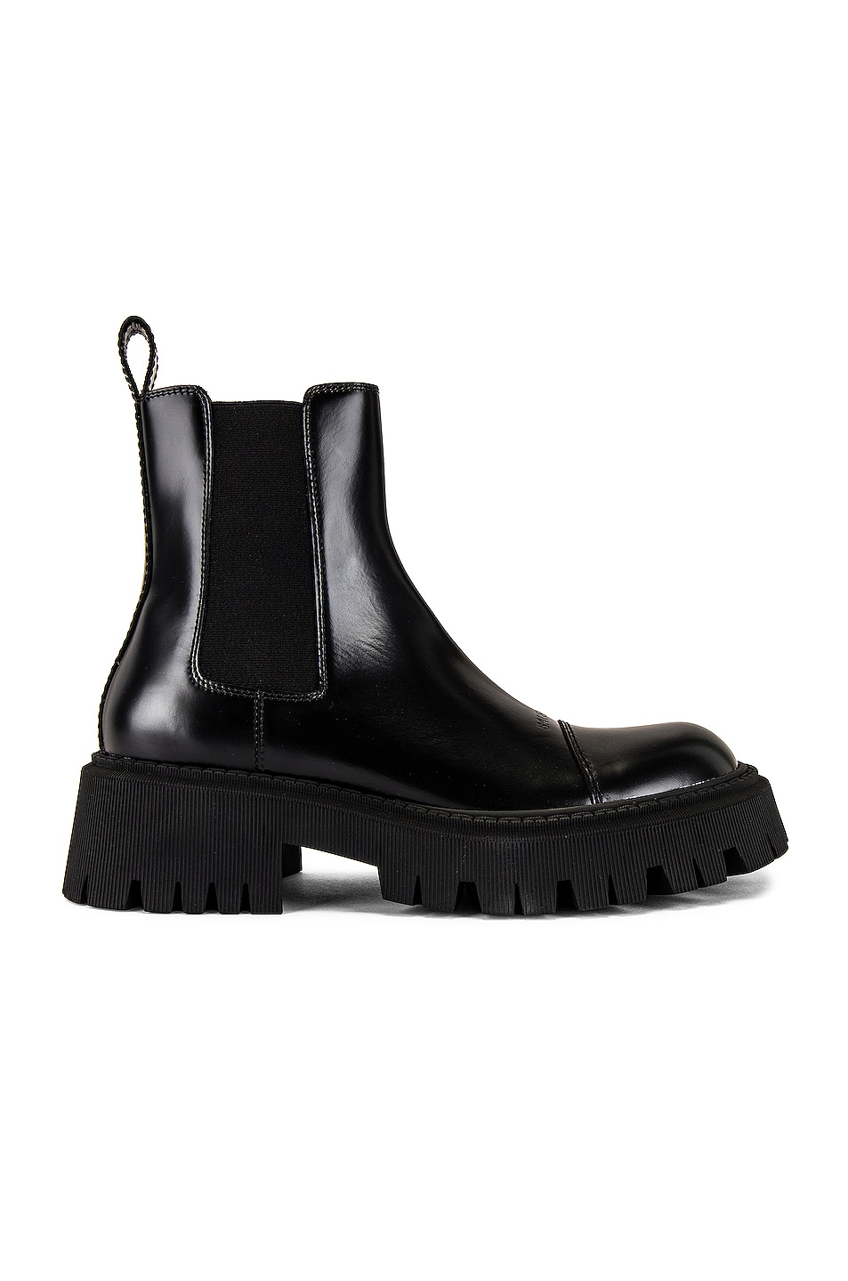 Image 1 of Balenciaga Tractor Bootie L20 in Black