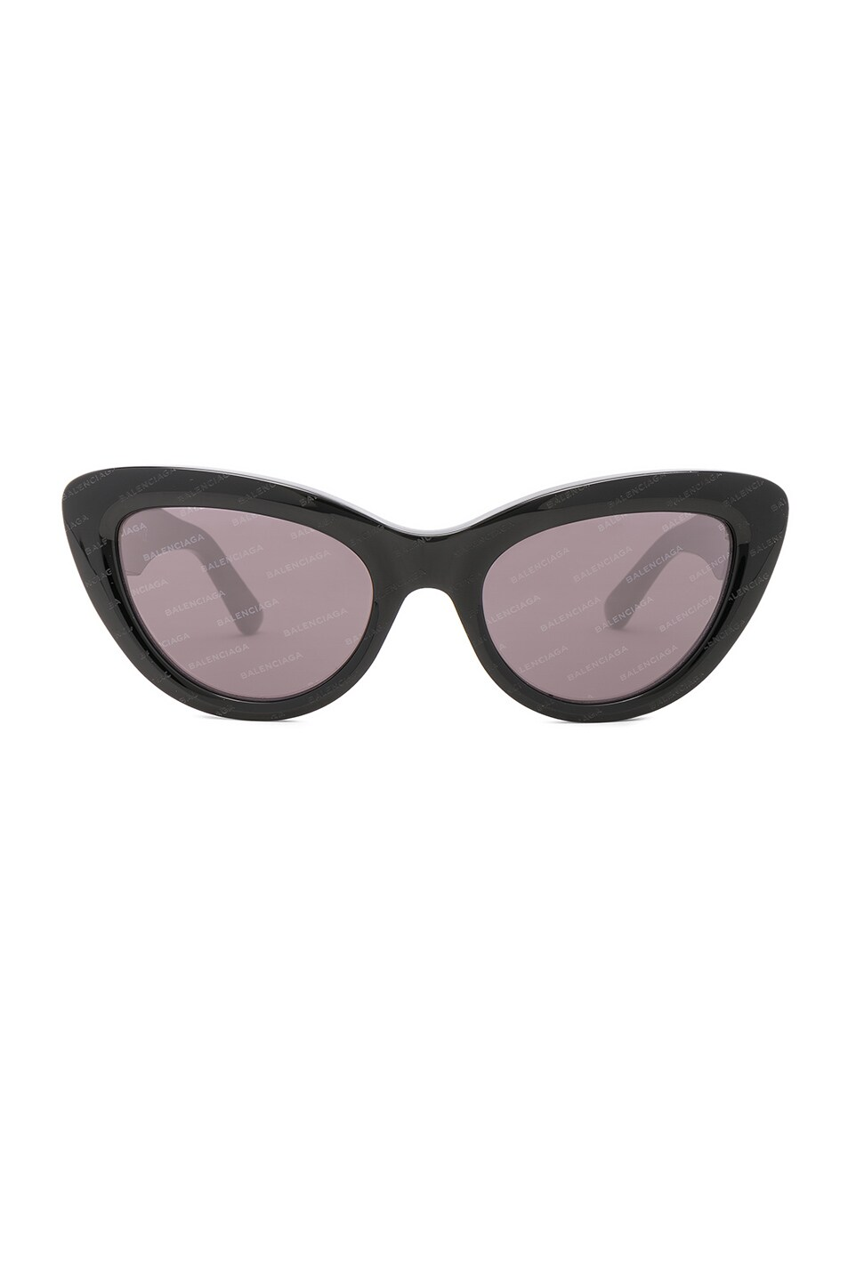 Image 1 of Balenciaga Cat Eye Sunglasses in Black