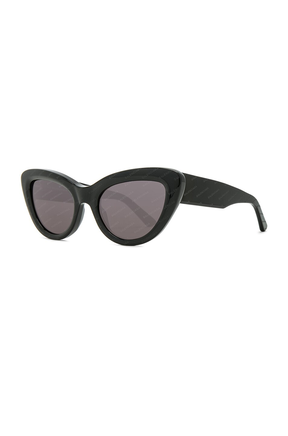 Image 2 of Balenciaga Cat Eye Sunglasses in Black