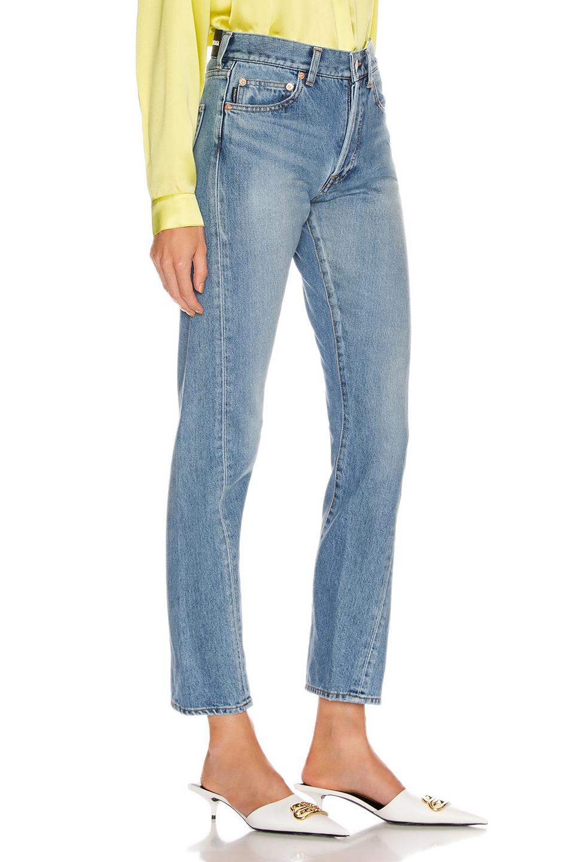 Image 2 of Balenciaga Twisted Jean in Light Indigo
