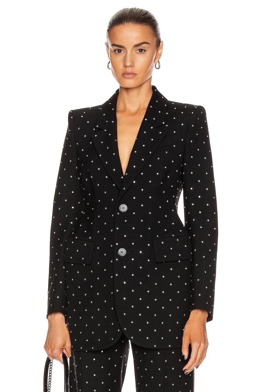 Image 1 of Balenciaga Hourglass Jacket in Black